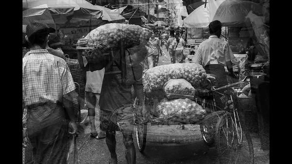 Streets of Yangon 2016