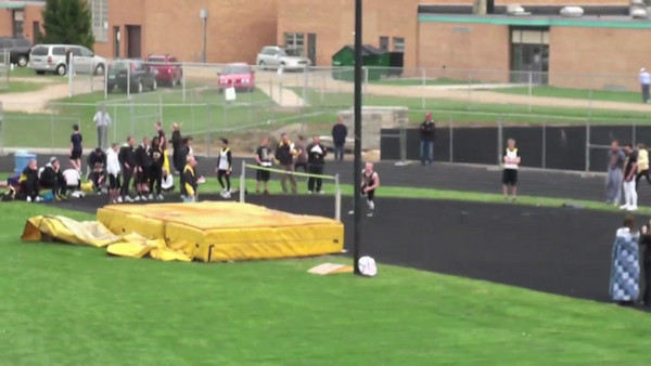Brandon - High Jump / 100m Dash