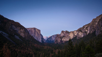 Yosemite Valley Day to Night timelapse
