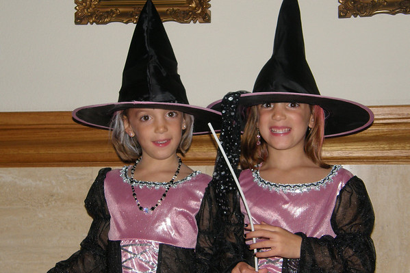 Twins on Halloween