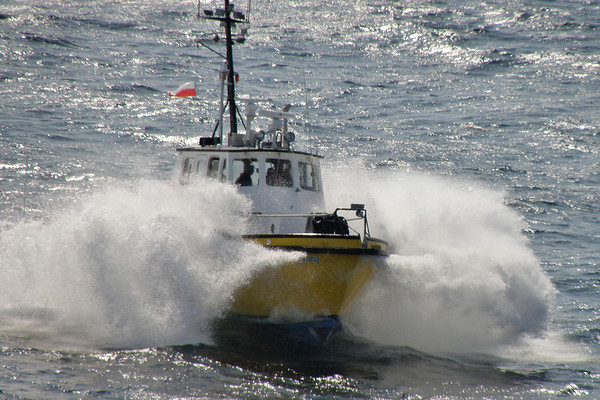 Pilot Boat in Glacier Bay National Park