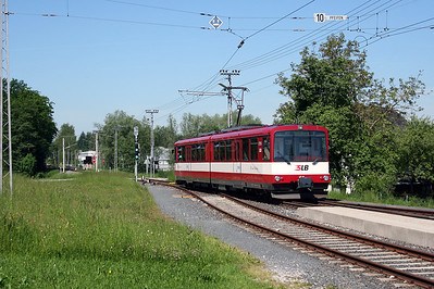 SLB, ET 55 at Lamprechtshausen on 27th May 2005