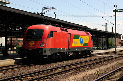 2) 1116 060 at Sopron on 27th June 2010 on hire from OBB to GySEV