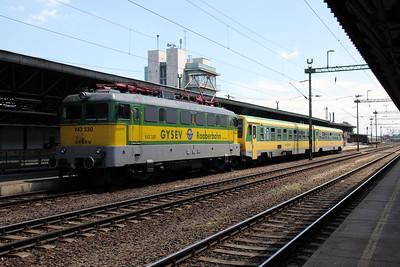 GySEV, V43 330 at Sopron on 27th June 2010