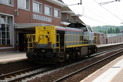 2) 7777 (92 88 0077 077-0 B-B) at Aarschot on 10th June 2013