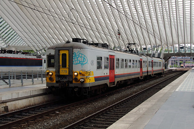779 at Liege Guillemins on 10th June 2013