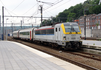 1907 (91 88 0190 070-8 B-B) at Liege Guillemins on 10th June 2013