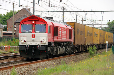 Crossrail, DE6308 (92 80 1266 103-1 D-XRAIL) at Bilzen (Belgium) on 10th June 2013