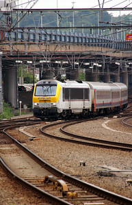 1) CFL, 3005 at Liege Guillemins on 10th June 2013