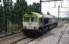 1) Captrain, 6601 (92 88 0266 001-1 B-CTB) near Antwerp Ost (Belgium) on 11th June 2013