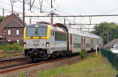 1906 (91 88 0190 060-9 B-B) at Bilzen on 10th June 2013