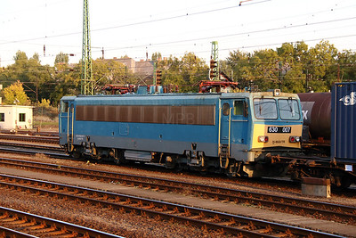 630 007 (91 55 0630 007-7 H-MAVTR) at Budapest Ferencvaros on 7th October 2013