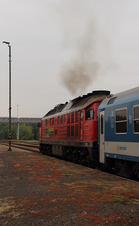 2) GySEV, 651 003 (92 53 0651 003-1 ex DB 232 559) at Repcelak on 7th October 2013 working IC922