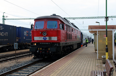 1) GySEV, 651 004 (92 53 0651 004-9 ex DB 232 598) at Csorna on 7th October 2013