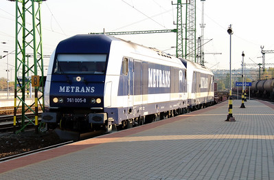 Metrans, 761 005 (92 54 2761 005-8 CZ-MT) at Budapest Kelenfold on 7th October 2013