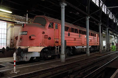 M61 002 at Budapest Keleti Depot on 7th October 2013