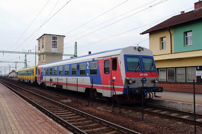 1) GySEV, 247 506 (99 55 0247 506-9 H-GYSEV) at Csorna on 7th October 2013