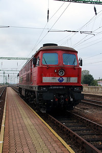 1) GySEV, 651 003 (92 53 0651 003-1 ex DB 232 559) at Csorna on 7th October 2013