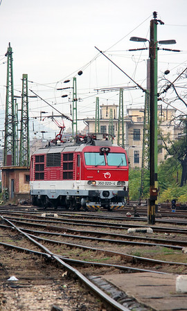 1) ZSSK, 350 020 (91 56 6350 020-4 SK-ZSSK) at Budapest Keleti Depot on 7th October 2013