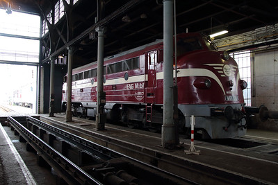 2) M61 010 at Budapest Keleti Depot on 7th October 2013