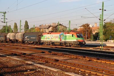 1) 1116 007 (91 81 1116 007-6 A-OBB) at Budapest Kelenfold on 7th October 2013