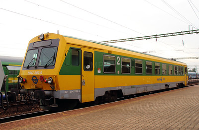 1) GySEV, 5047 502 at Csorna on 7th October 2013