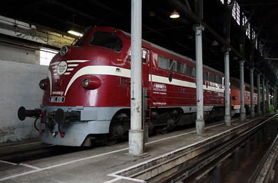 1) M61 010 at Budapest Keleti Depot on 7th October 2013
