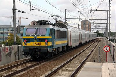 2731 at Antwerpen Luchtbal on 4th September 2009