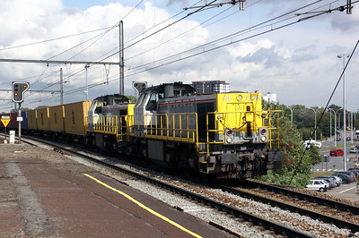 7726 at Antwerpen Oost on 4th September 2009