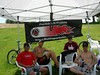 Collins, Clark, Brown, & Spence kicking it in the shade after the race.