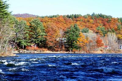 View from the Parabolic Bridge / Hadley, NY / The Adirondacks Collection / 2009 Autumn