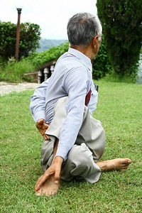 Yoga while in Nepal