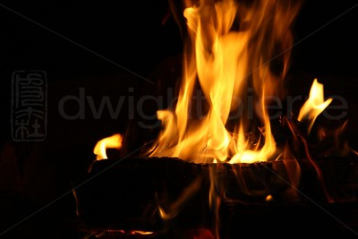 Camp Fire / The Adirondacks Collection / 2009 Autumn