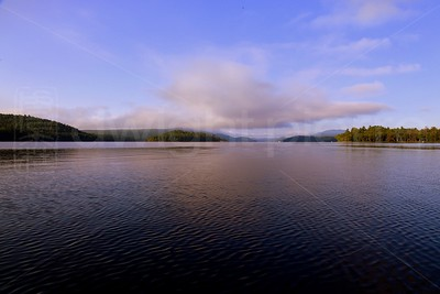 Looking South on Schroon Lake / The Adirondacks Collection / 2009 Summer