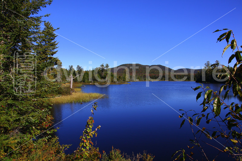 autumn mountain in the adriondacks