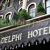 adelphi hotel sign