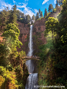 Multnomah Falls Hike, Portland, Oregon