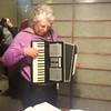 mum playing the accordion