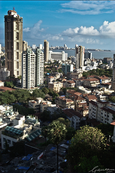 Mumbai Skyline, looking south east