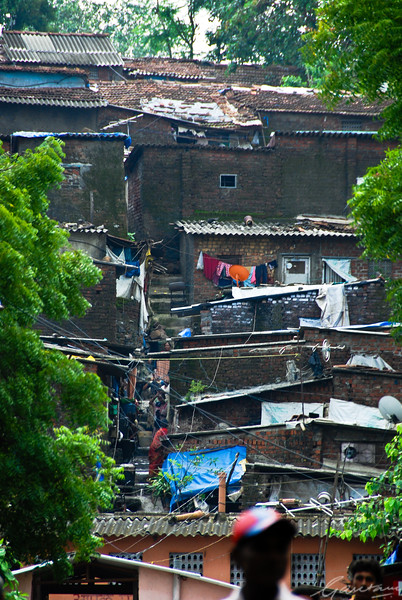 Slum within the Sanjay Gandhi National Park, Mumbai