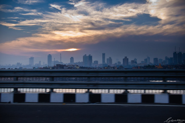 March dawn, Bandra Worli Sealink
