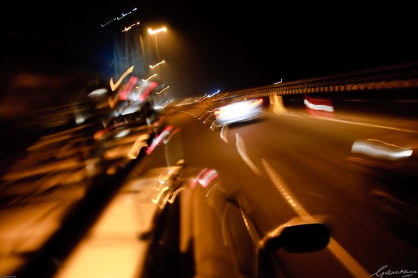 Sea Link, Mumbai at night