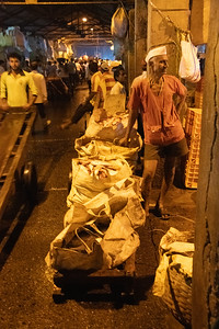 They Dabbawalla(lunch box carriers) fellow delivers alternate products.