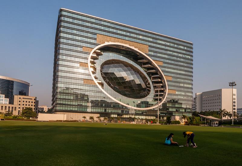 Business centre Bandra Kurla Complex, Mumbai, India