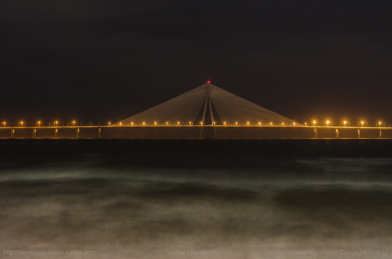 Bandra Worli Sea Link, Dadar, Mumbai, India