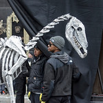 Mummer Parade Float Skeleton