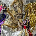 Gold & Silver Beaked Mummer