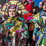 Male, Female, Male, Mummers