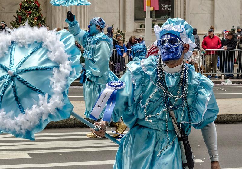 Blue Umbrella Strut