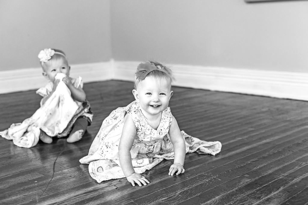Elsie & Abby-33b&w